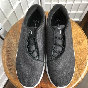 Jessica Simpson Gray Slip On Sneakers
